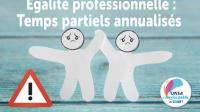 Égalité professionnelle : désaccord sur l'annualisation du temps partiel