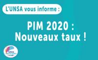 Prestations Interministérielles d'Action Sociale 2020 : les nouveaux taux