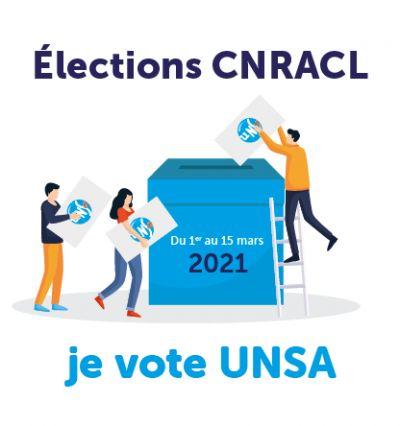 CNRACL : voter et faire voter UNSA